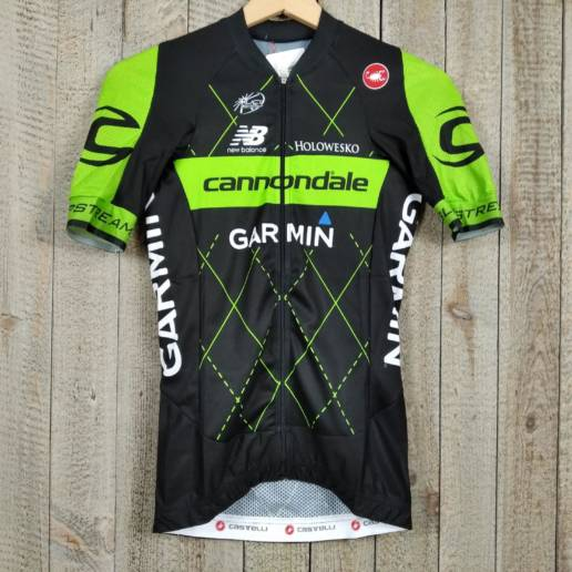 Short Sleeve Jersey - Cannondale Garmin 00000686 (1)