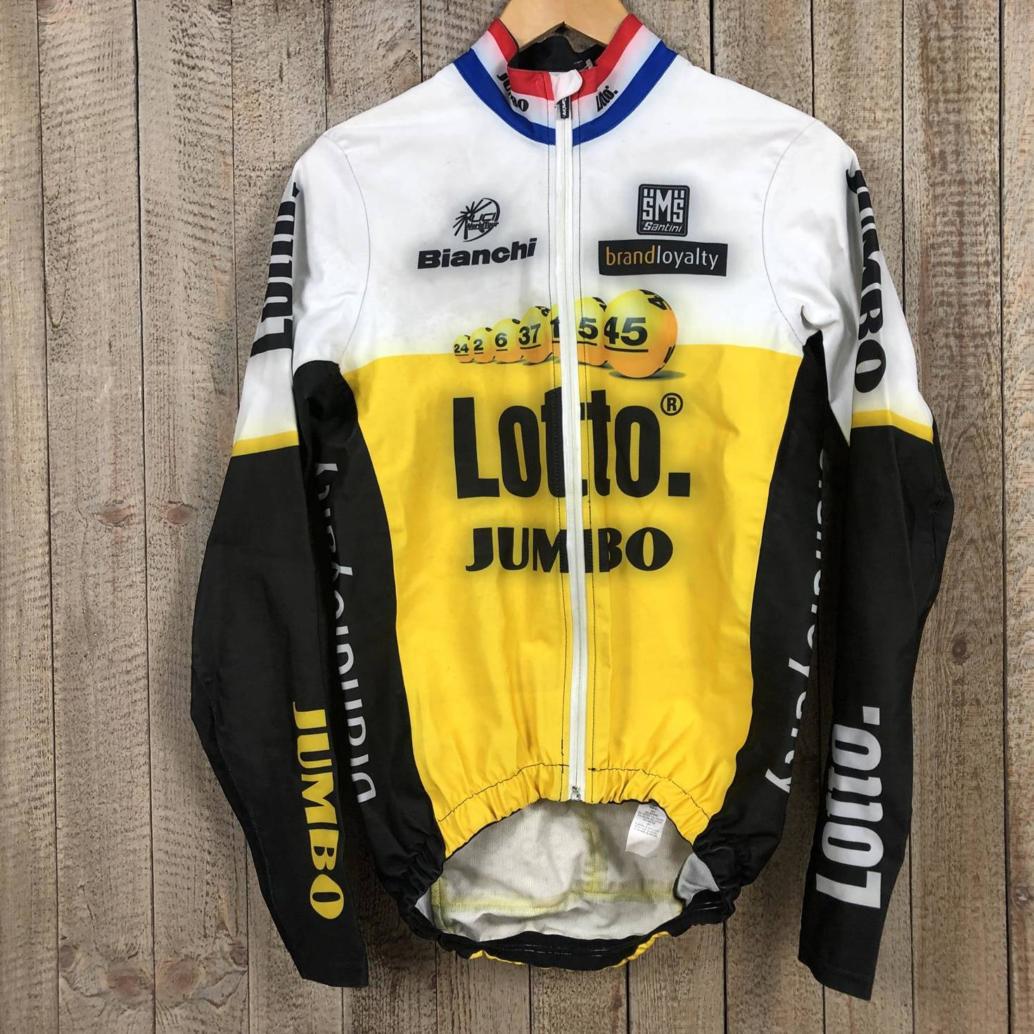 Dutch Ex-National Champion Rainproof Jacket - Lotto Jumbo 00002785 (1)
