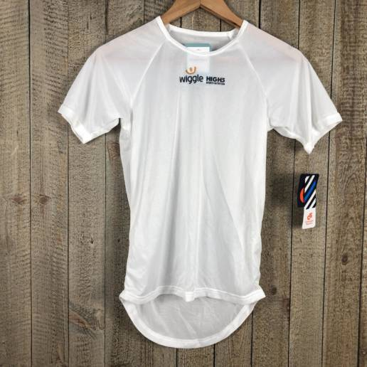 Short Sleeve Base Layer - Wiggle High5 White 00002692 (1)
