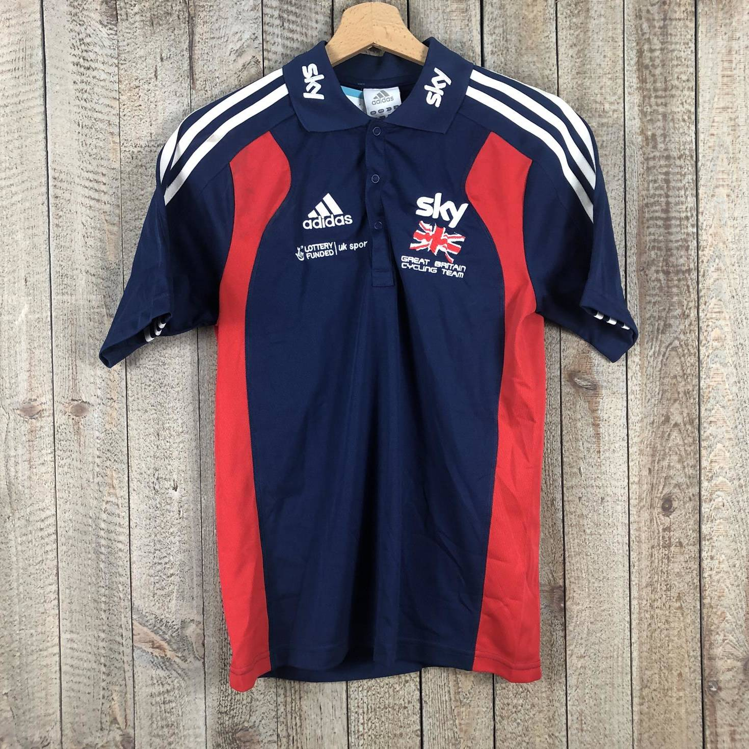 Polo Shirt - British Cycling 00003489 (1)