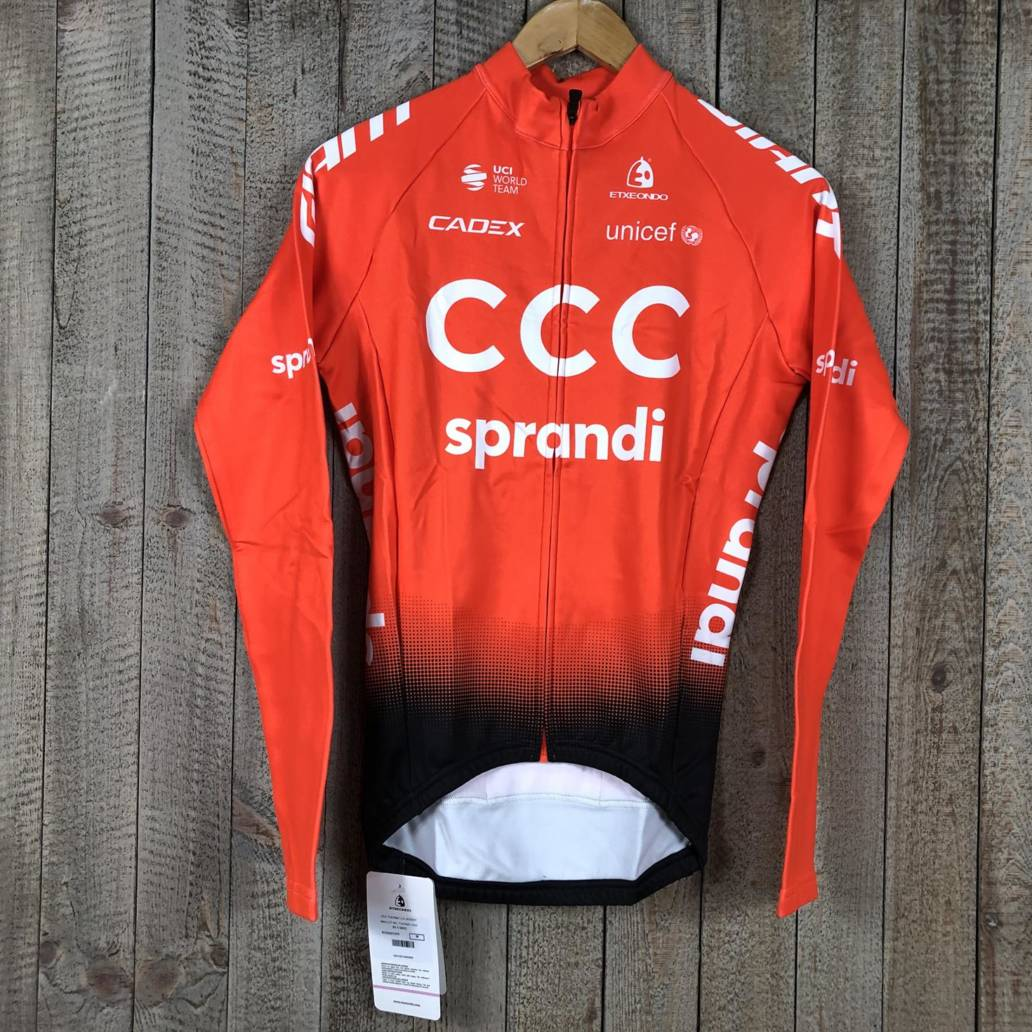 Thermal Long Sleeve Jersey - CCC Team 00003414 (1)