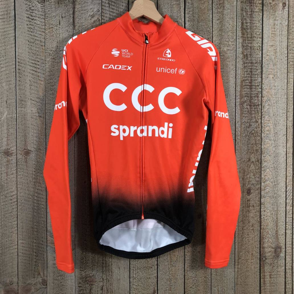 Thermal Long Sleeve Jersey - CCC Team 00003583 (1)