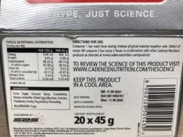 CarboFuel Energy Bar Berry Flavoured 00007807 (2)