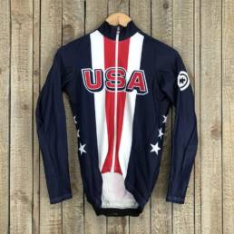 LS Thermal Jersey - USA Cycling National Team 00010152 (1)